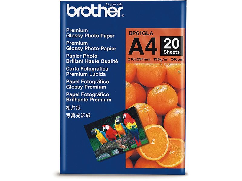CMYK - Brother Glossy - BP61GLA